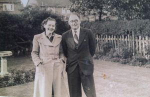 Anthony and Elva Pratt in the 1940's around the time they devised the game of Cluedo
