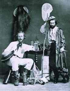 Ernst Haeckel and von Miclucho-Maclay 1866